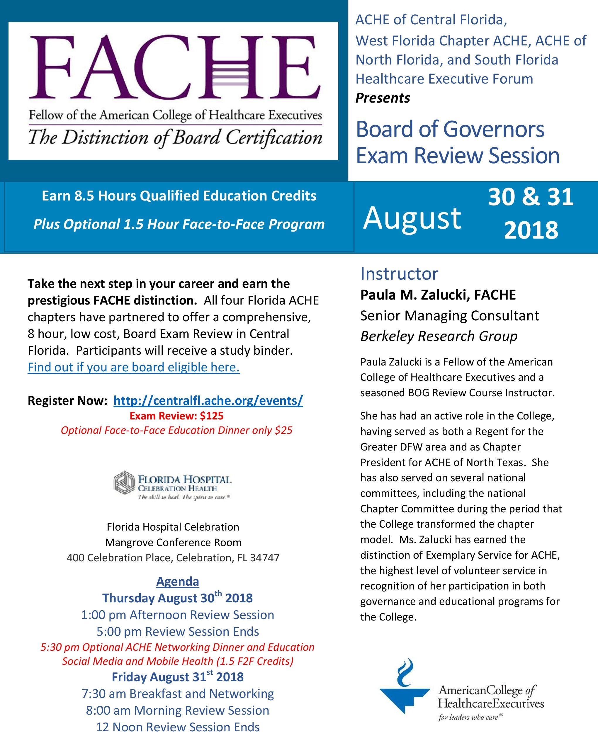 Board Of Governors Exam Review Session Central Florida